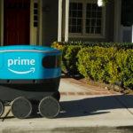 Robot de entrega de Amazon