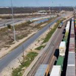 Trenes de carga en Estación Sánchez
