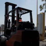 montacargas almacen logistica