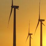 Torres energía eólica.
