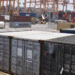 Puerto industria marítima.